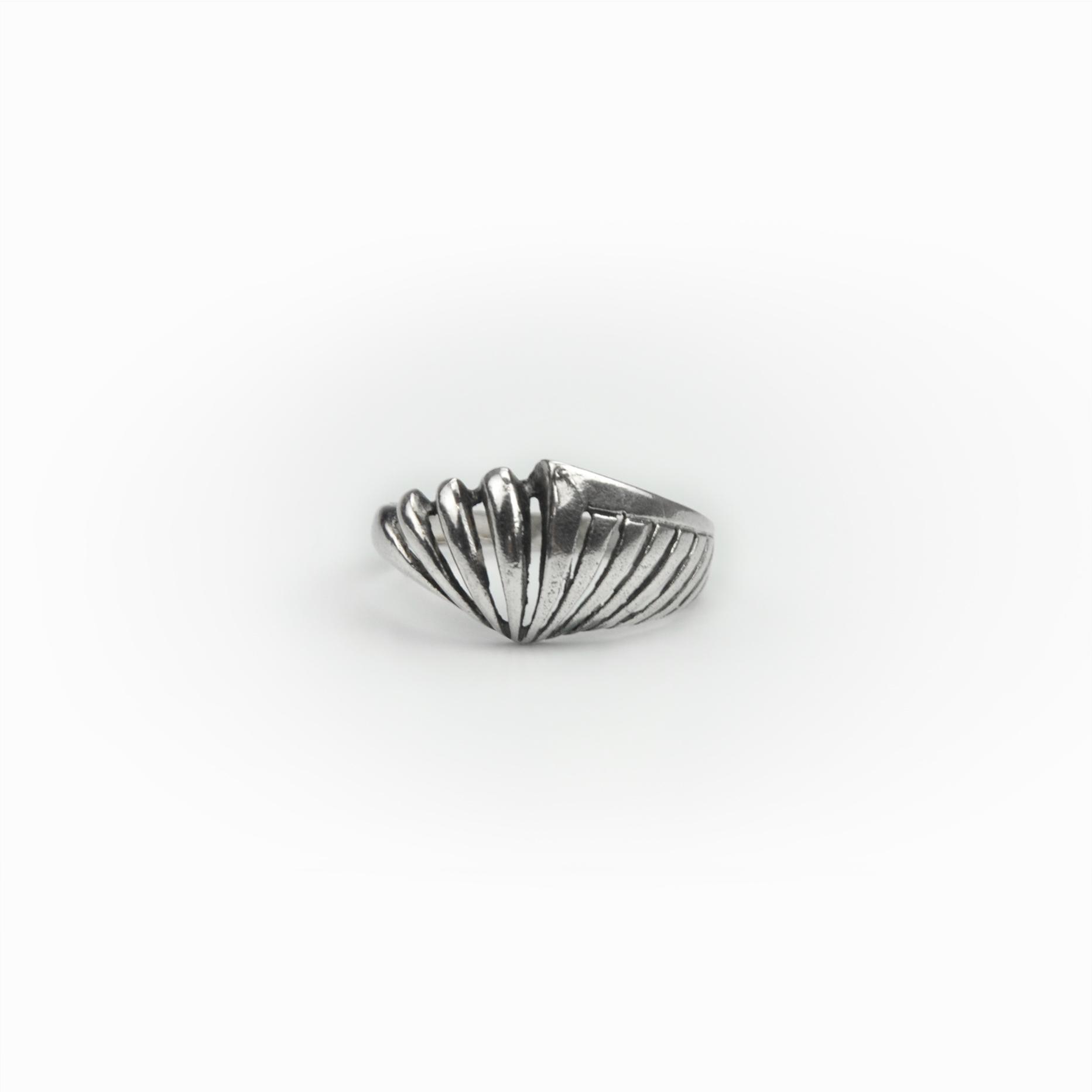 Anel concha em prata (2)