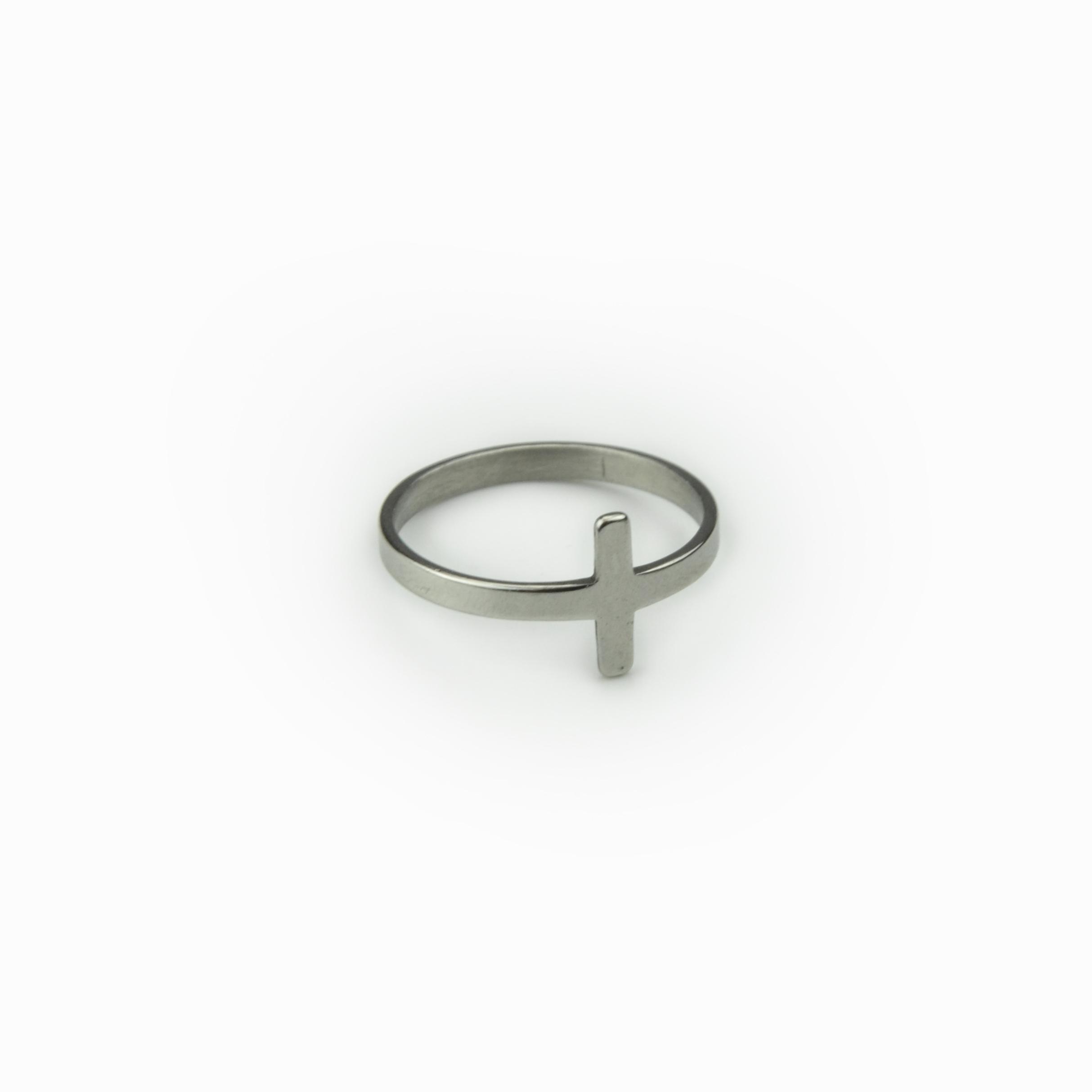 Anel elegante aço (2)