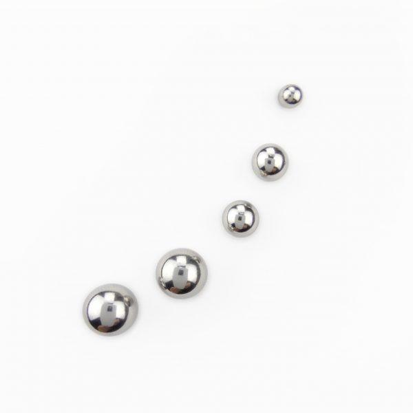 Brincos bola em aço – Cópia